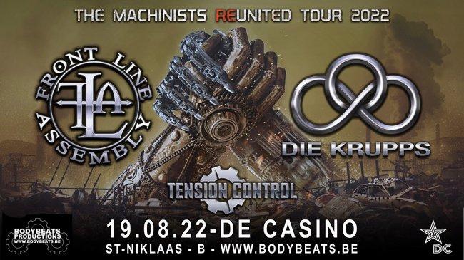 19.08 Die Krupps + Front Line Assembly
