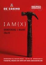 NEWS 01.03 IAM[X] + DJ BORG @ De Casino, St-Niklaas, B