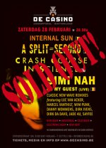 NEWS 25.05 A SPLIT-SECOND + SIMI NAH + CRASH COURSE IN SCIENCE @ De Casino - SOLD OUT!