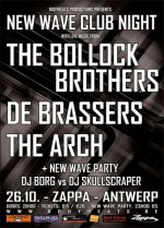 NEWS 26.10 First New Wave Club Night with The Bollock Brothers, De Brassers & The Arch + Afterparty