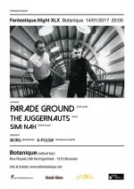NEWS BodyBeats bands over Brussels! The Juggernauts, Parade Ground & Simi Nah will perform at La Botanique!