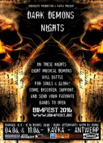 NEWS BodyBeats & BIMFEST presents: The DARK DEMONS NIGHTS @ Kavka