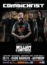 NEWS Combichrist - The We Love Tour - 2014 comes to Antwerp!