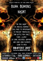NEWS Dark Demon(n)s wanted to play BIMFEST 2017!