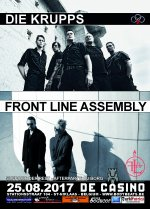 NEWS Die Krupps + Front Line Assembly @ De Casino - St - Niklaas - B
