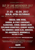 NEWS Dirk Ivens & The Juggernauts confirmed at Out Of Line Weekender 2017 - Berlin