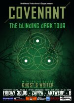 NEWS Ghost & Writer confirmed as support for the Convenant show in Antwerp!