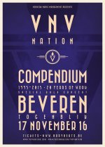 NEWS Last 50 tickets for VNV NATION - Compendium Tour show on November 17th @ Togenblik (Beveren, B) on sale now!