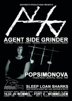 NEWS Last time to see Agent Side Grinder perform in Belgium with their current Line-up!