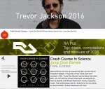 NEWS Crash Course In Science's 'Jump Over Barrels' #3 on Trevor Jackson's Top releases of 2016.