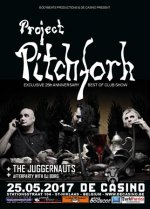 NEWS Project Pitchfork - Best Of - Show + The Juggernauts @ De Casino, St Niklaas, B