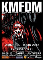 NEWS This weekend! KMFDM + Ambassador 21 + BodyBeats Afterparty!