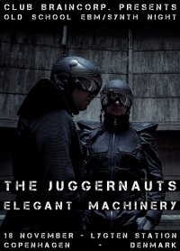 18.11 The Juggernauts + Elegant Machinery @ Lygten Station - Copenhagen - Denmark