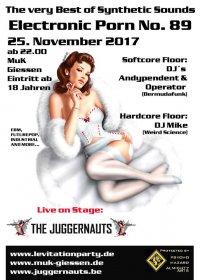 25.11 The Juggernauts @ Electronic Porn, MUK Giessen, D